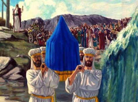 Kohathites bearing the Ark of the Covenant(Testimony)