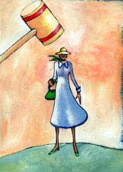 Wayward Wife - (the suspected unfaithful wife) - Sotah