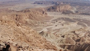 Negeb desert mountains