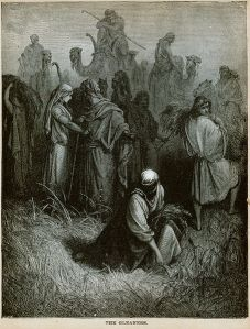The Gleaners (engraving by Gustave Doré from the 1865 La Sainte Bible)