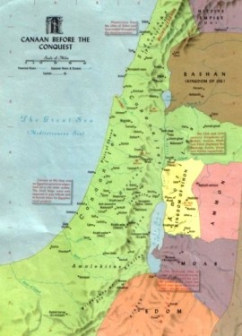 balak - parsha [land of canaan before conquest]