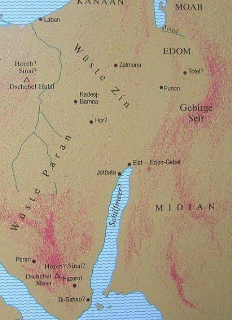 Midian & Moab, conspire against Israel _ [Numb. 22:4]