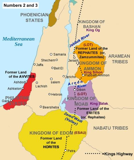 balak - parsha [Moses-transjordan-1250]