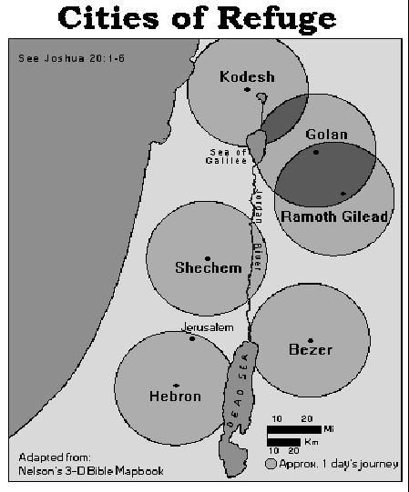 masei - parsha (cities of refuge)