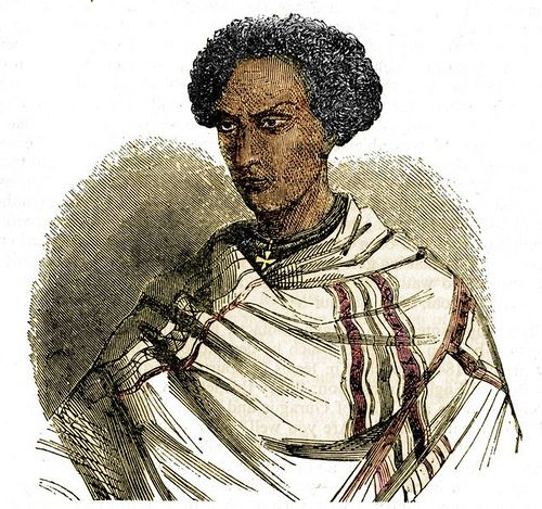 Negus(King) Sahle Sellasie