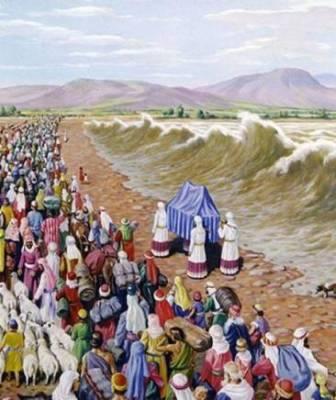Crossing Jordan [Deut. 9:1]