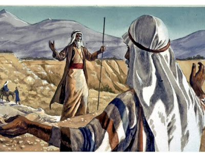 Moses & Jethro