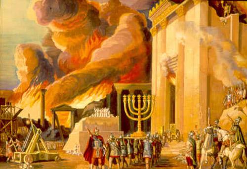 Tisha B'ab [temple destruction by the romans] (70A.D.)