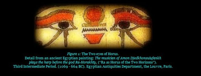 wadjet & nekhbet (two eyes of Horus)