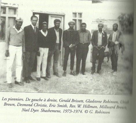 first settlers of shashamane land grant