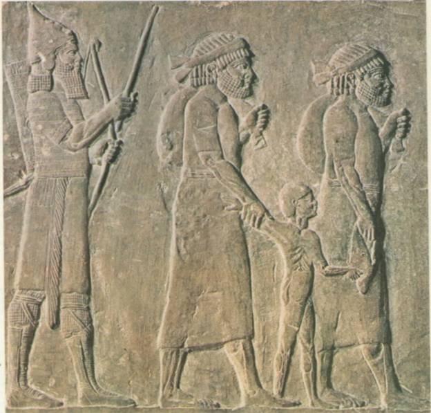 Israelite captives of Babylon _ Louvre Museum