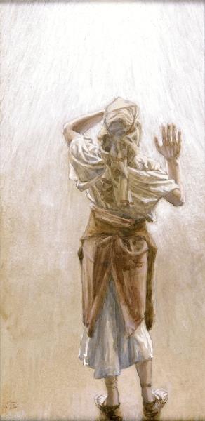 Noah _ painting by James J. Tissot