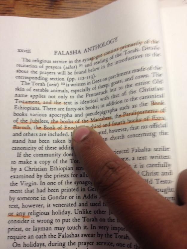 Chanukkah - Book of Maccabees - Falasha Anthology by Wolf Leslau