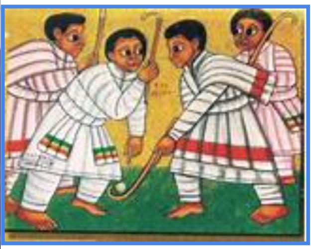 gena - yelidet - genna (Ethiopian game Chewata)