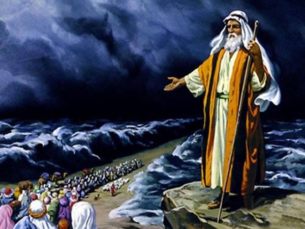 Moshe & the 70 elders of Israel
