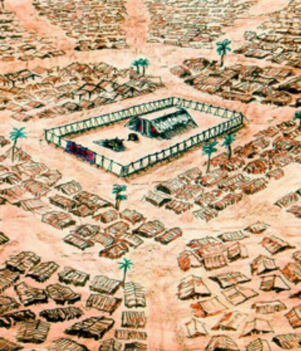 bamibar - parsha [encampment of the Bnei Ysrael]