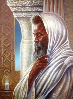yitro - parsha [st-moses-the-ethiopian-in-the-temple-raymond-walker]