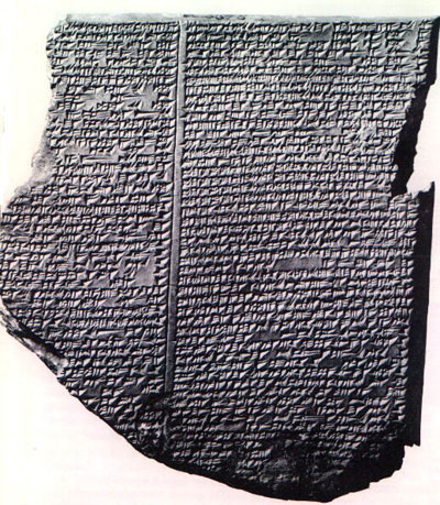 noach - parsha [epic-of-gilgamesh-flood-myth]