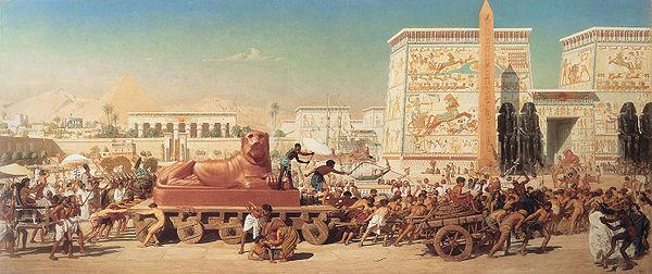 wayechi - parsha [Egypt mourns Jacob's death (Israel_in_Egypt)]