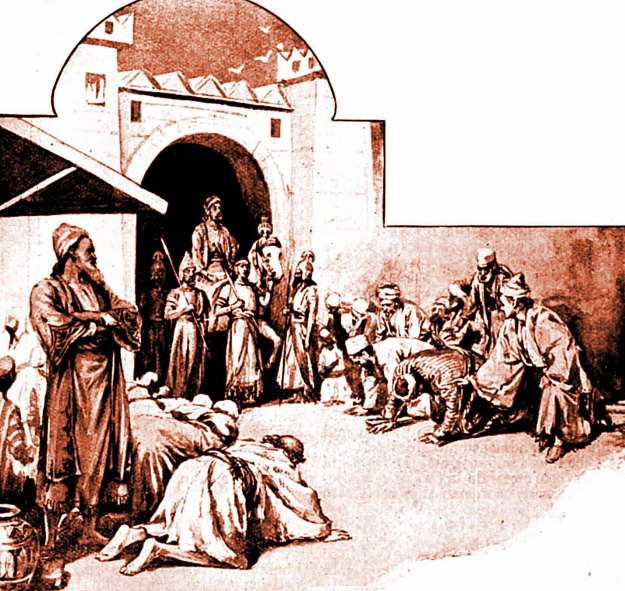 Mordecai bowed not to Haman (Ta'anit Esther - Shushan Purim)