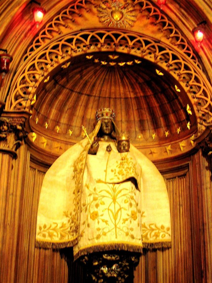 Notre Dame de Pilar - Black Madonna of Chartres
