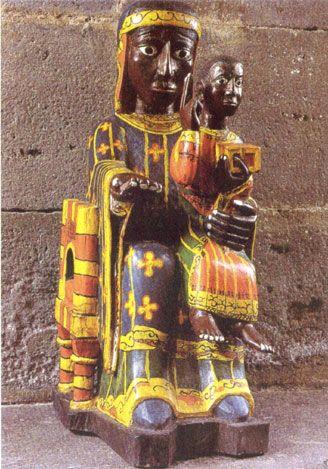 Madonna of Chastrix (Puy-de-Dome, France)