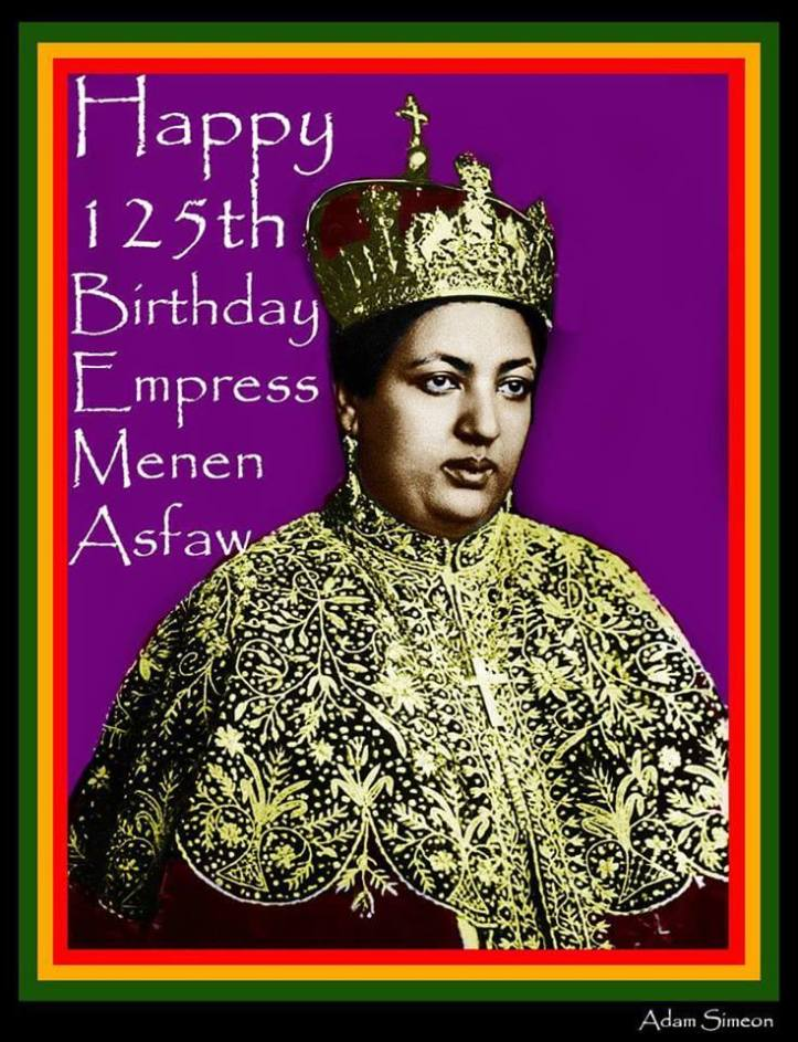 menen asfaw 125th earthstrong