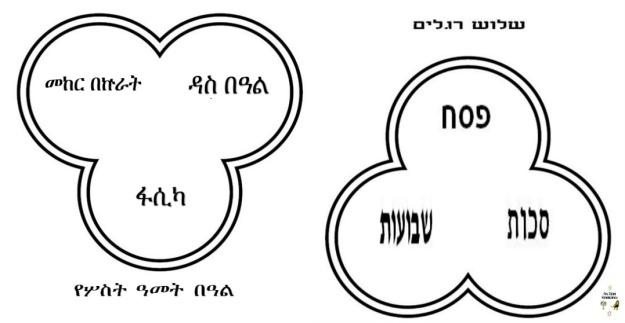 shalosh reglaim - ye'sost amet be'al (three pilgrimage feasts)