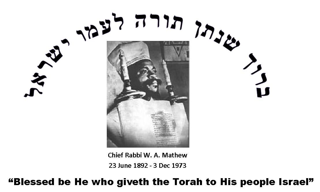 Rabbi Wentwerth A. Matthew