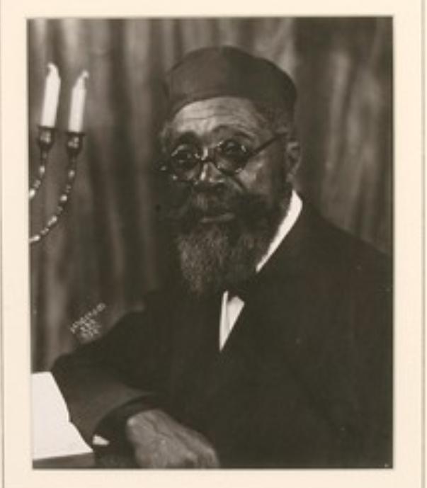 rabbi wentworth a. matthew (photo by james van derzee)