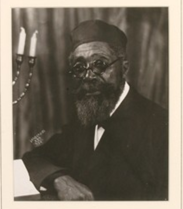 rabbi wentworth a. matthew (photo by james van derzee)